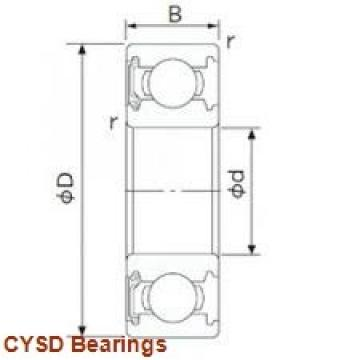 90 mm x 140 mm x 24 mm  CYSD 6018-ZZ deep groove ball bearings