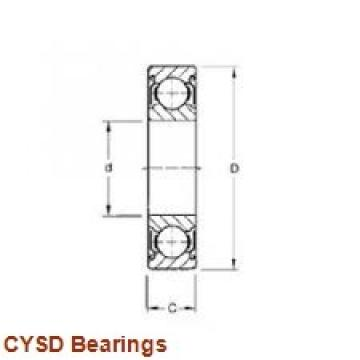 35 mm x 80 mm x 31 mm  CYSD NU2307E cylindrical roller bearings