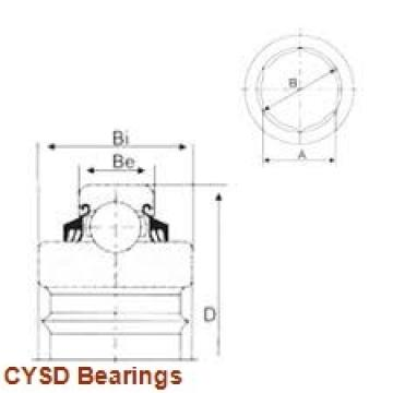10 mm x 30 mm x 9 mm  CYSD 6200-2RS deep groove ball bearings
