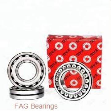 40 mm x 80 mm x 18 mm  FAG 30208-A tapered roller bearings