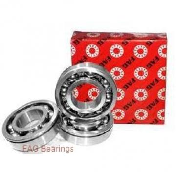 60 mm x 125 mm x 33,5 mm  FAG T7FC060 tapered roller bearings